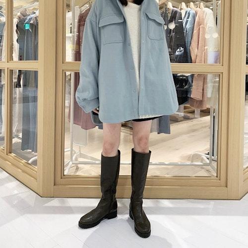 ソラ色コート