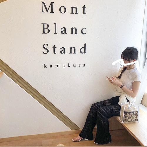 Mont Blanc Stand