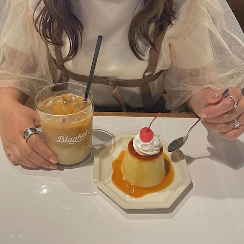 珈琲 軽食 Blanket