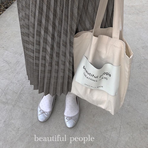 beautiful people トートバック