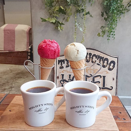 MIGHTY STEPS coffee stop(東京・新日本橋)