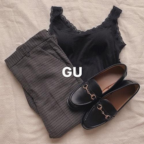 GU置き画コーデ