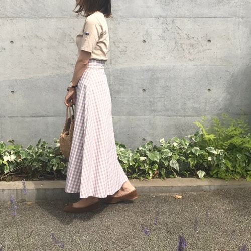 GUフレアスカート