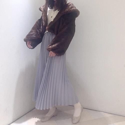 ブラウンファーコート