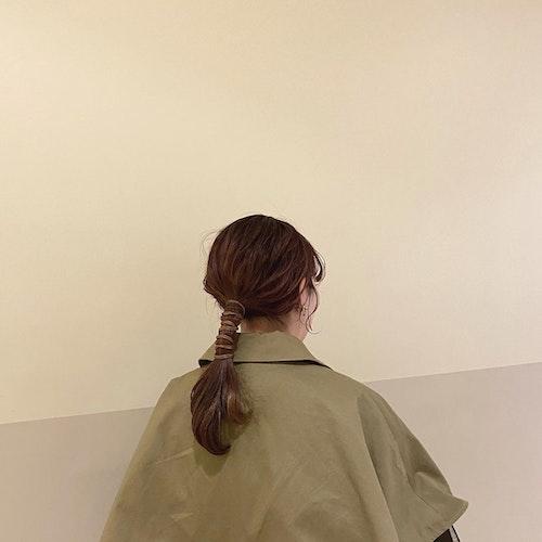 紐アレンジヘア